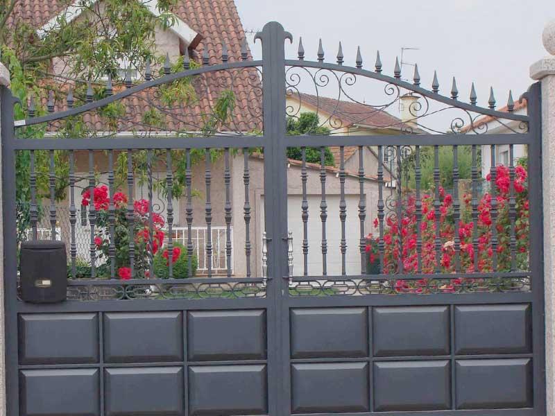 puertas de hierro metalbuendia murcia