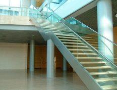 Escaleras de acero inoxidable en Murcia